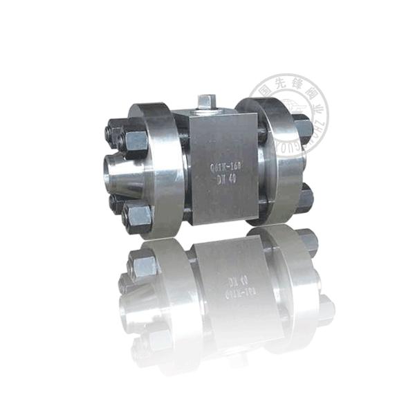 Q61H-160P/R 手動焊接浮動球直通流道硬密封不銹鋼(304、316)高壓球閥