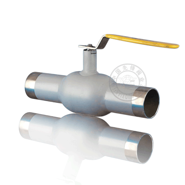 Q61H-16P/R 手動焊接浮動球直通流道硬密封不銹鋼(304、316)球閥